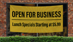 Lunch Specials Banners