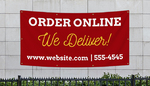 We Deliver Banners