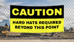 Caution Banners