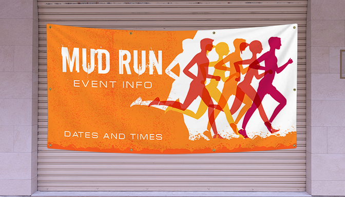 Mud Run Banners