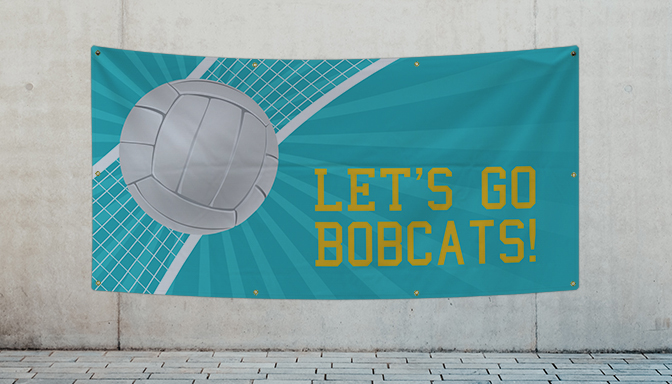 Volleyball Banners