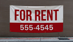 For Rent Banners