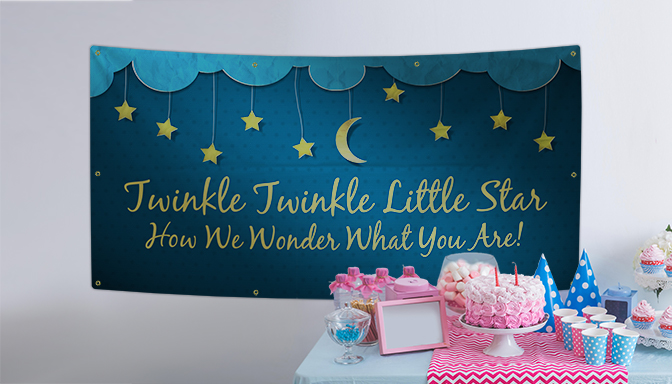 Gender Reveal Banners