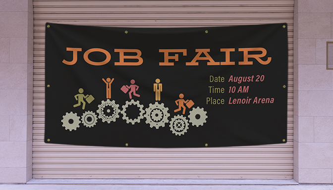 Job Fair Banners