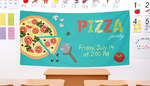 Pizza Party Banners