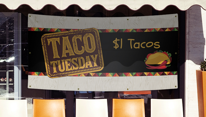 Taco Tuesday Banners