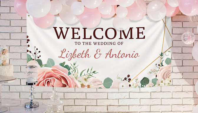 Vinyl Wedding Banners We Print The Affordable Wedding Banners