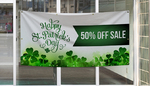 St Patricks Day Banners