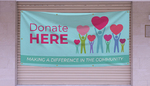 Donate Here Banners