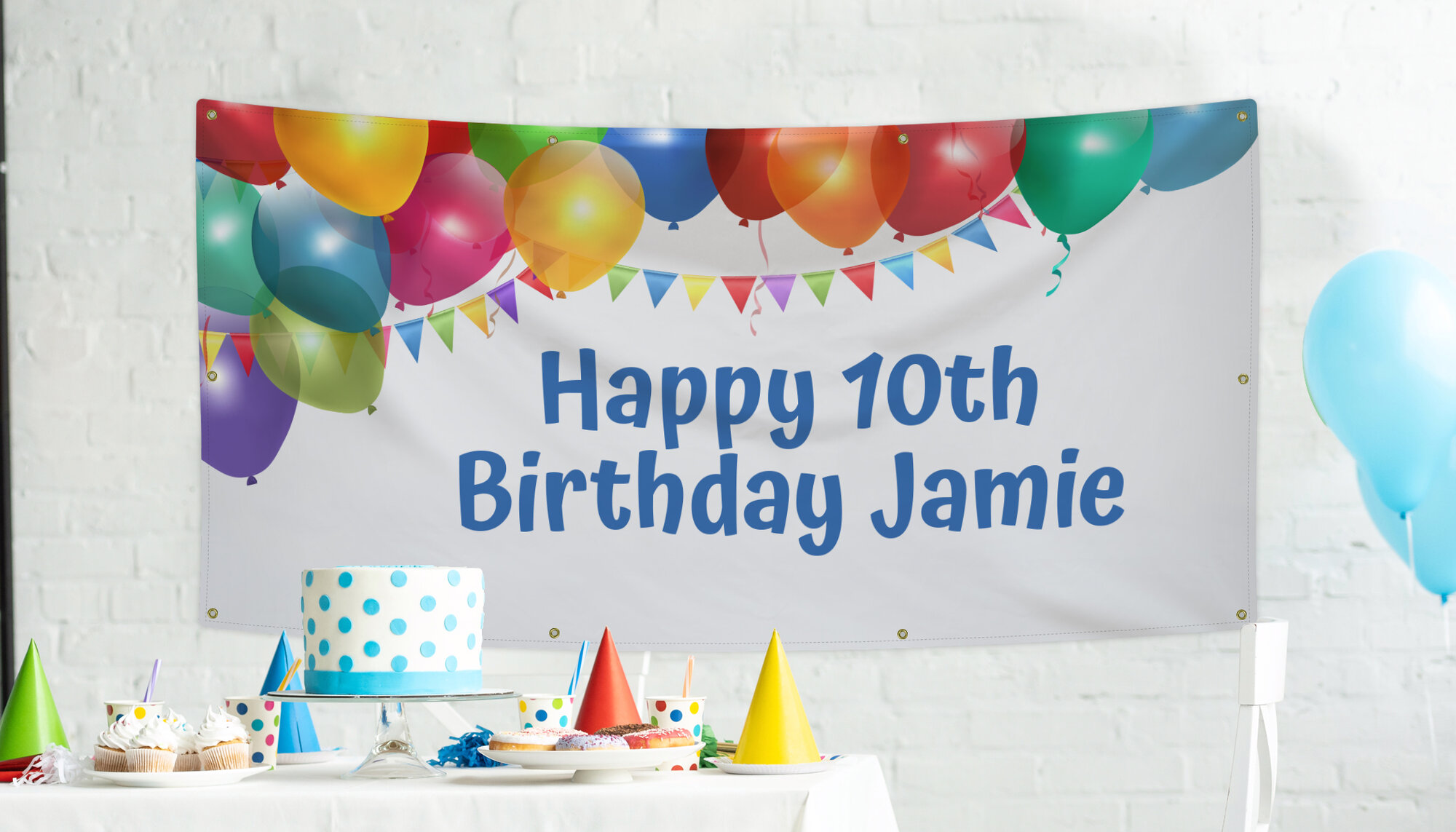 Cheap Birthday Banner